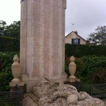 Monument aux morts de Château-Thierry